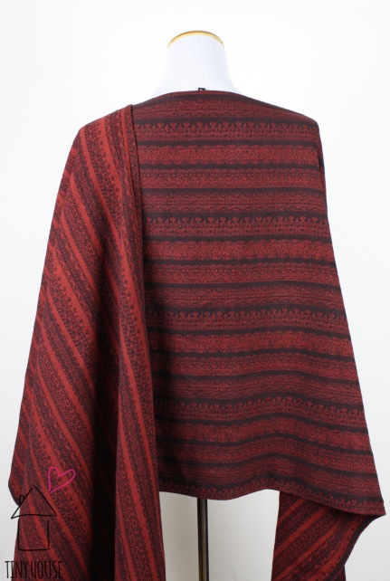 Ellevill Gaia Celia, solid dyed red