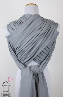 Kokoro Coco Snow, dyed solid gray