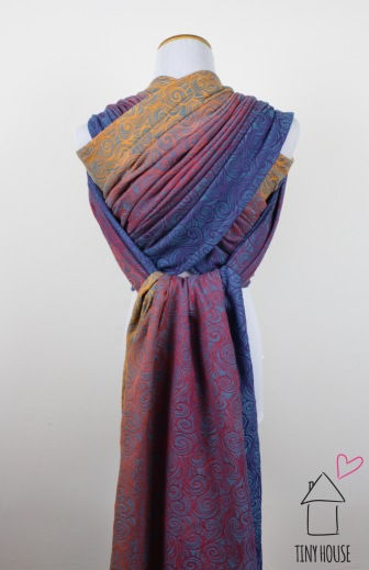 Tekhni Galene splash, ombre dyed