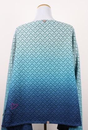 Tekhni Olympos Manta, ombre dyed