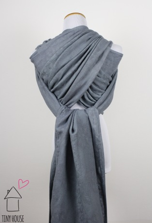 Didymos Natural Hemp Pfau, dyed solid gray