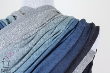 Didymos Didylove gray/white, ombre dyed