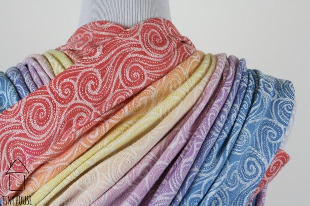 Tekhni Galene Arctica, ombre dyed