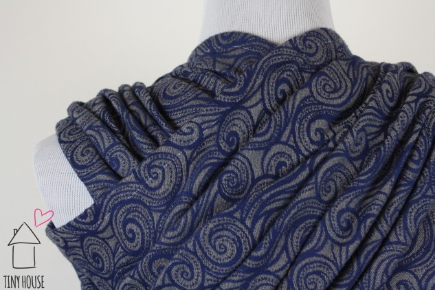 Tekhni Galene Pewter, dyed solid navy