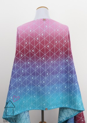 Tekhni Delta Arctica, ombre dyed