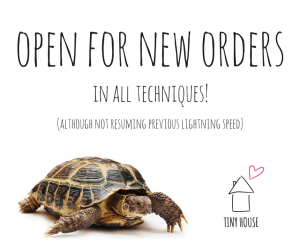open for new orders