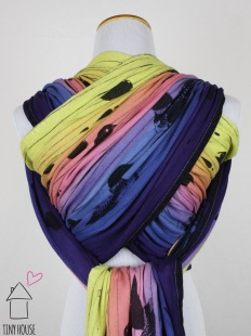 Natibaby Loons, ombre dyed