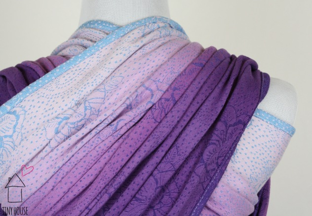 Risaroo Wovens Pemberly Aquarius, ombre dyed