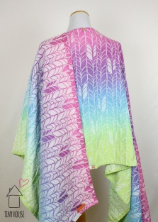 Tekhni Omada Arctica, painted ombre dye