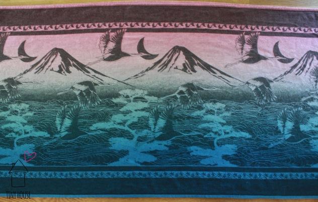 Oscha Tsuru Zen, dip vat ombre